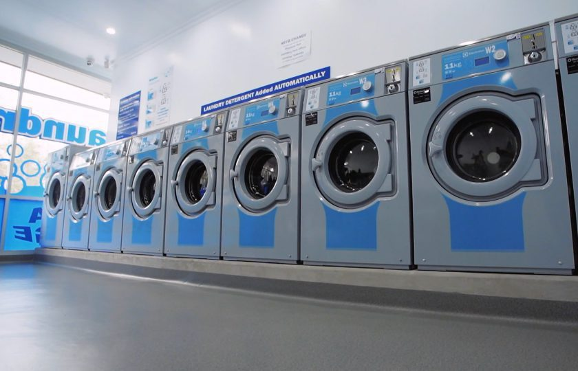 blog post on Cosimo Coscia and state-of-the-art laundromats set up in Adelaide