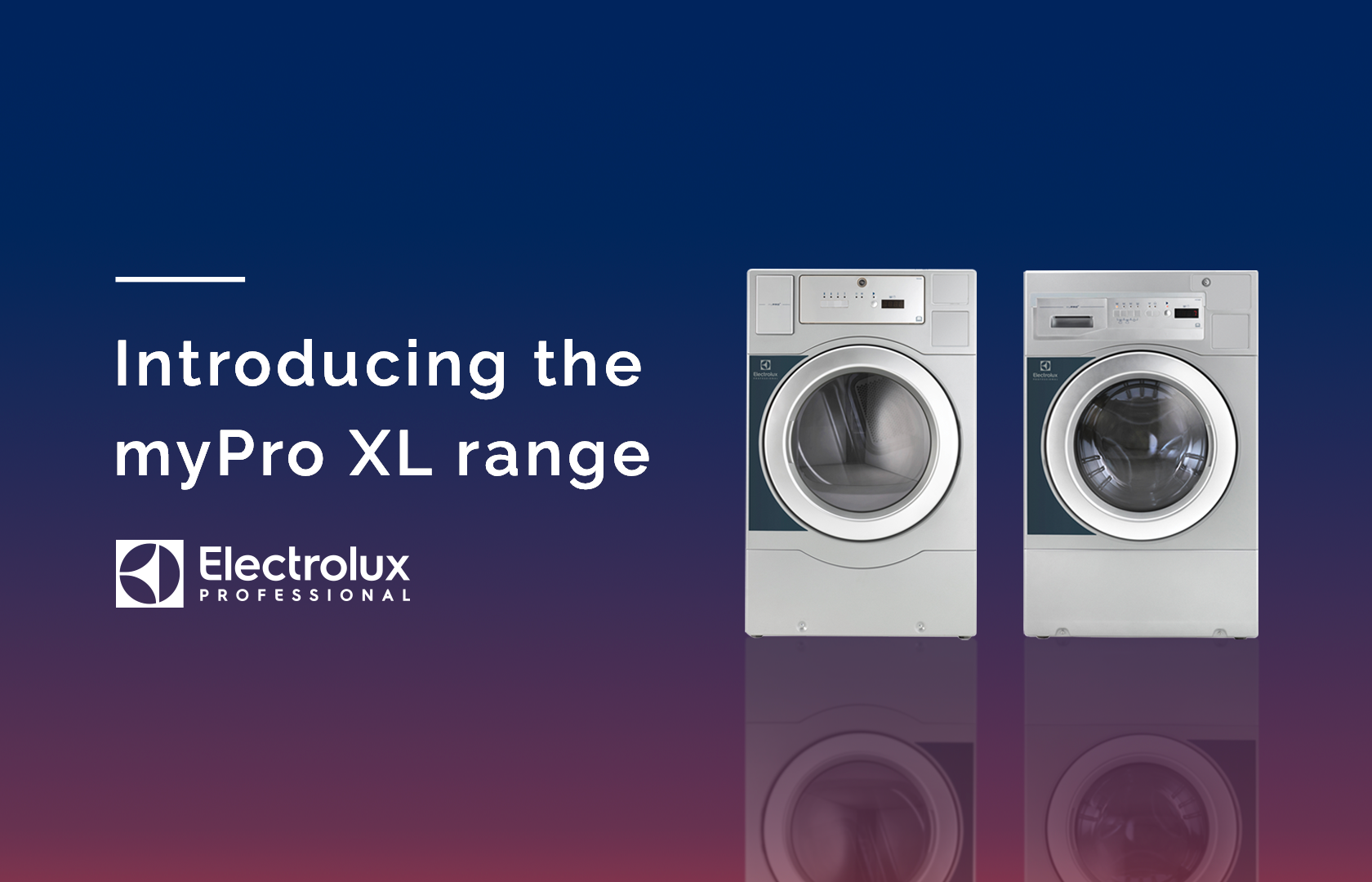 Blog post from Richard Jay on the myPro XL range by Electrolux Professional