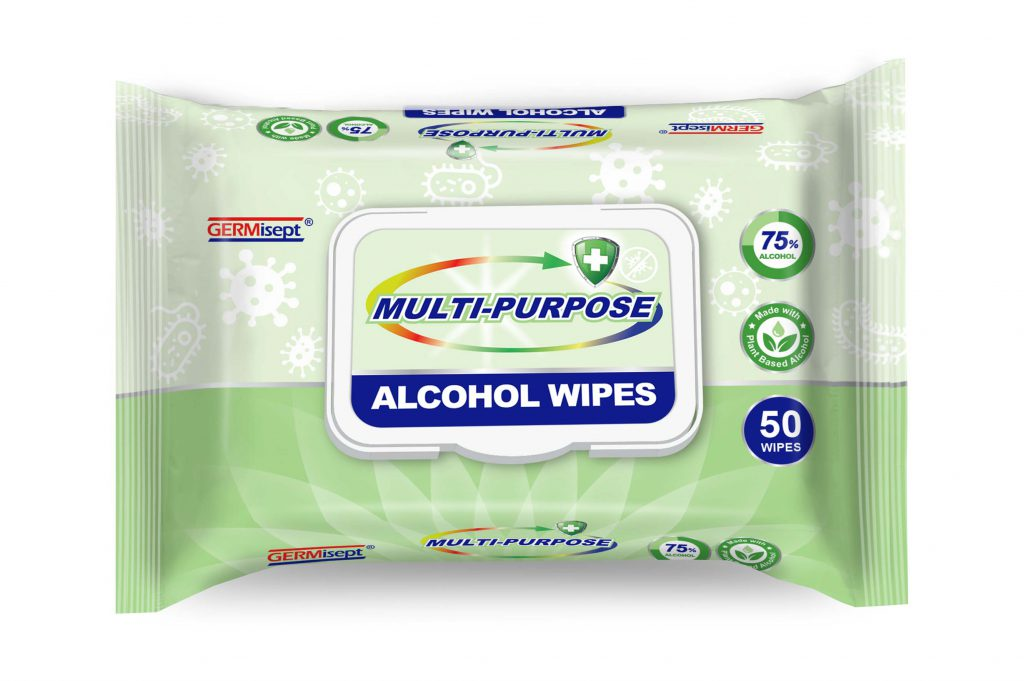 JayWipes Alcohol wipes